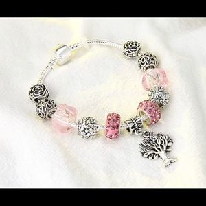 Jewelry - TREE Of LIFE Crystal Rhinestone Charm Bracelet